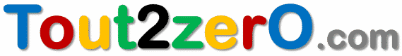 Tout 2 zéro : logo du site
